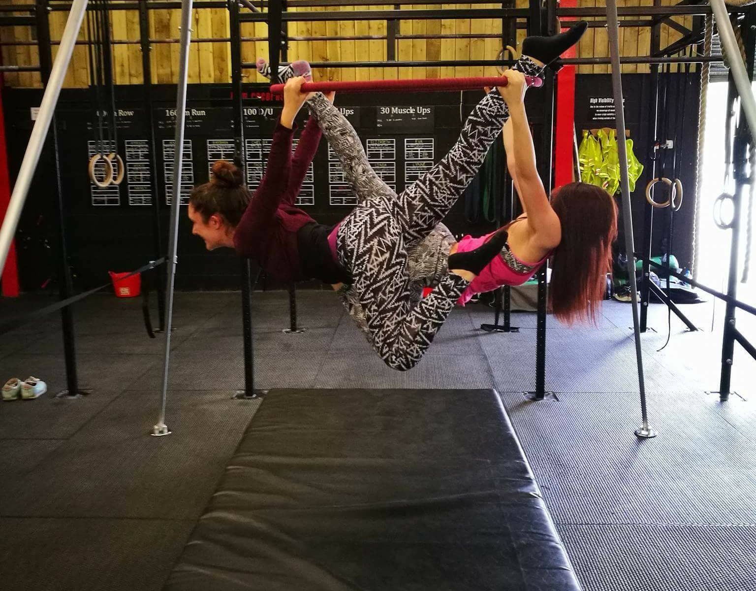 Aerial Tippy Hoop and Aerial Cube classes in Leyland near Preston, Lancashire