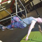 Aerial Hoop and Aerial Cube class lesson leyland Preston