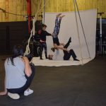 Aerial Playground 2 at CirqueFit for St Catherine's Hospice