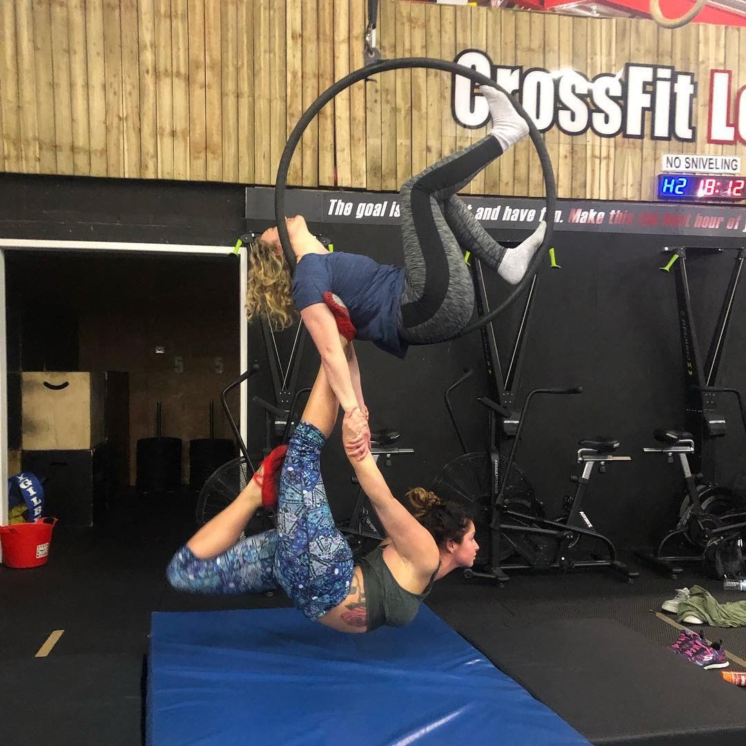 Aerial Hoop Classes Leyland Preston Lancashire