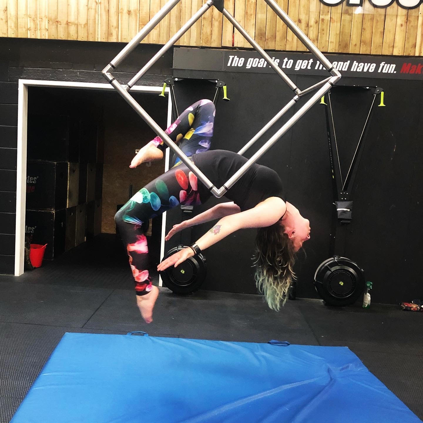 Aerial cube classes in Leyland Preston Lancashire